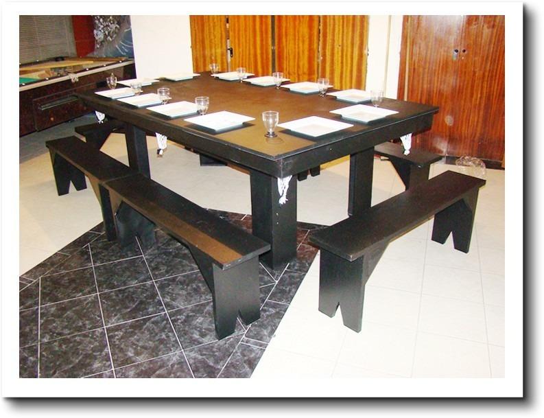 Mesa De Pool 240 Comedor Y Ping Pong + 4 Bancos + Kit Oferta ...