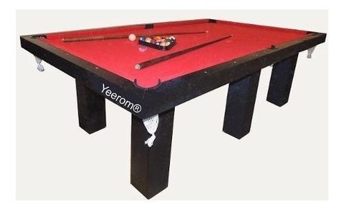 mesa de pool 254 comedor y ping pong + kits + bancos oferta!