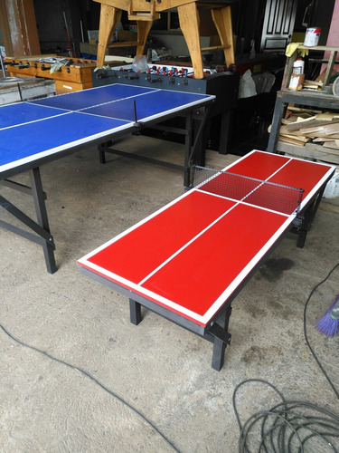 mesa de pool billar ping pong futbolin hockey