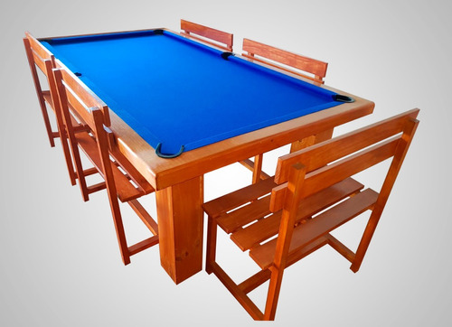 mesa de pool comedor modelo transportable a todo chile