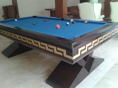 mesa de pool medidas profesionales