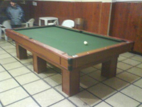 mesa de pool nueva profesional medidas de competicion