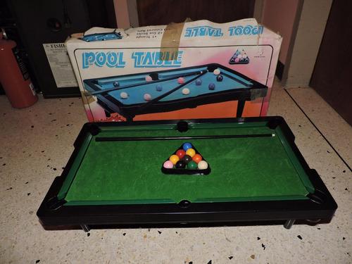 mesa de pool portátil