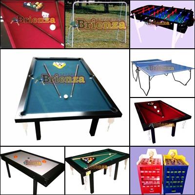 mesa de pool profesional 2.40mt mdf laqueado+ kit accesorios