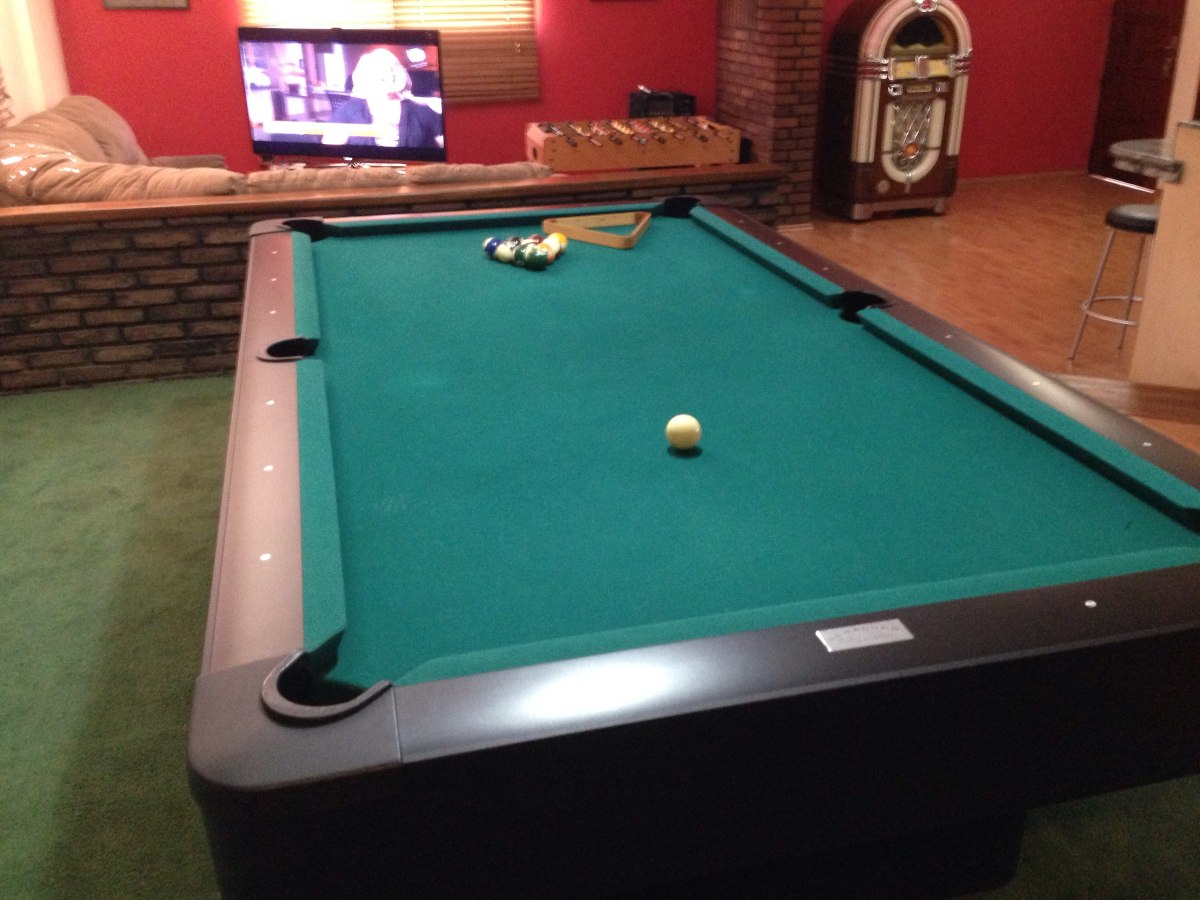 Mesa De Pool Profesional Olhausen Champion Pro Bs 2 500
