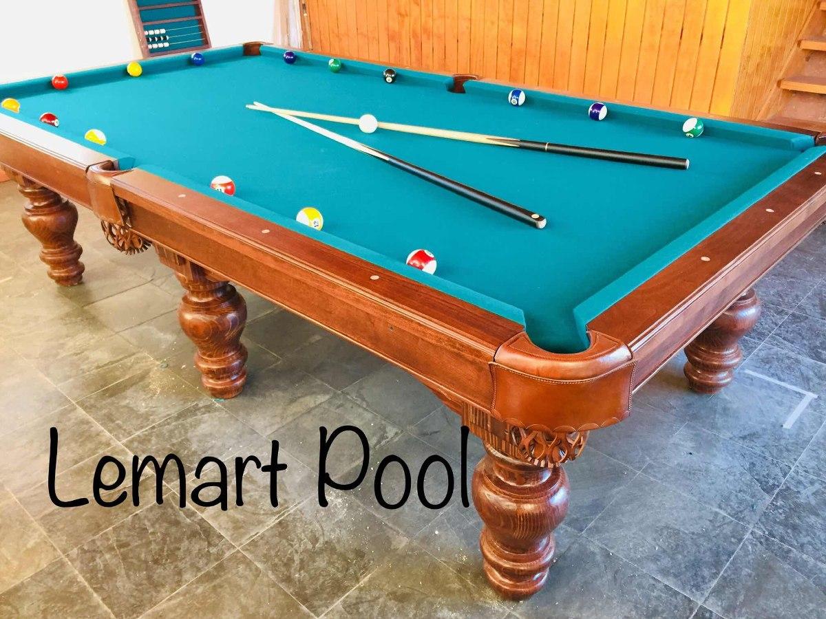 Mesa De Pool Profesional Piedra Pizarra Lemartpool 1
