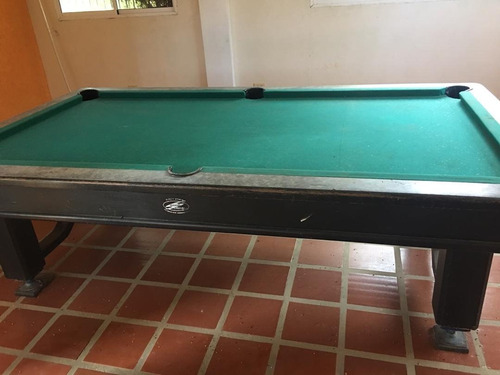 mesa de pool y billar completas con todos sus accesorios