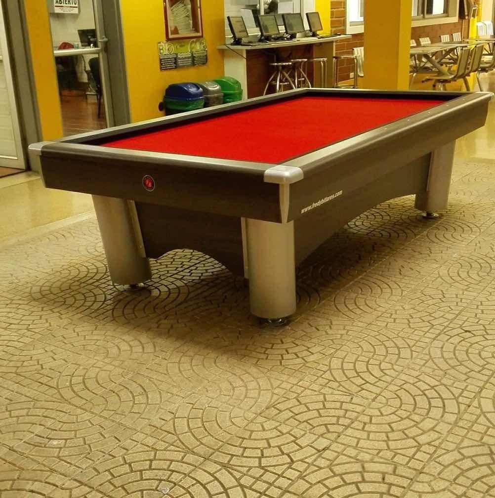 mesa de pool. ¿y billar.  nuevas. de segunda  madera metal