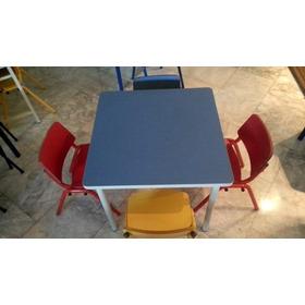 Mesa De Pre-escolar Con Tope De Formica