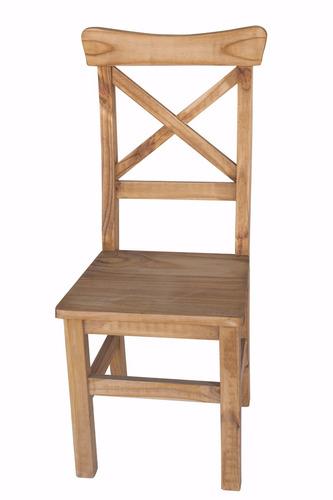 mesa de quincho 3 m + 14 sillas maciza estilo campo,pino