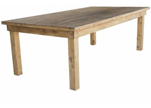 mesa de quincho 3,00 x 1,20 m + 14 sillas comedor,oferta