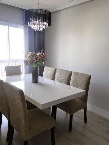 mesa de resina  verona 1.60 x 1.00 cor branca base central