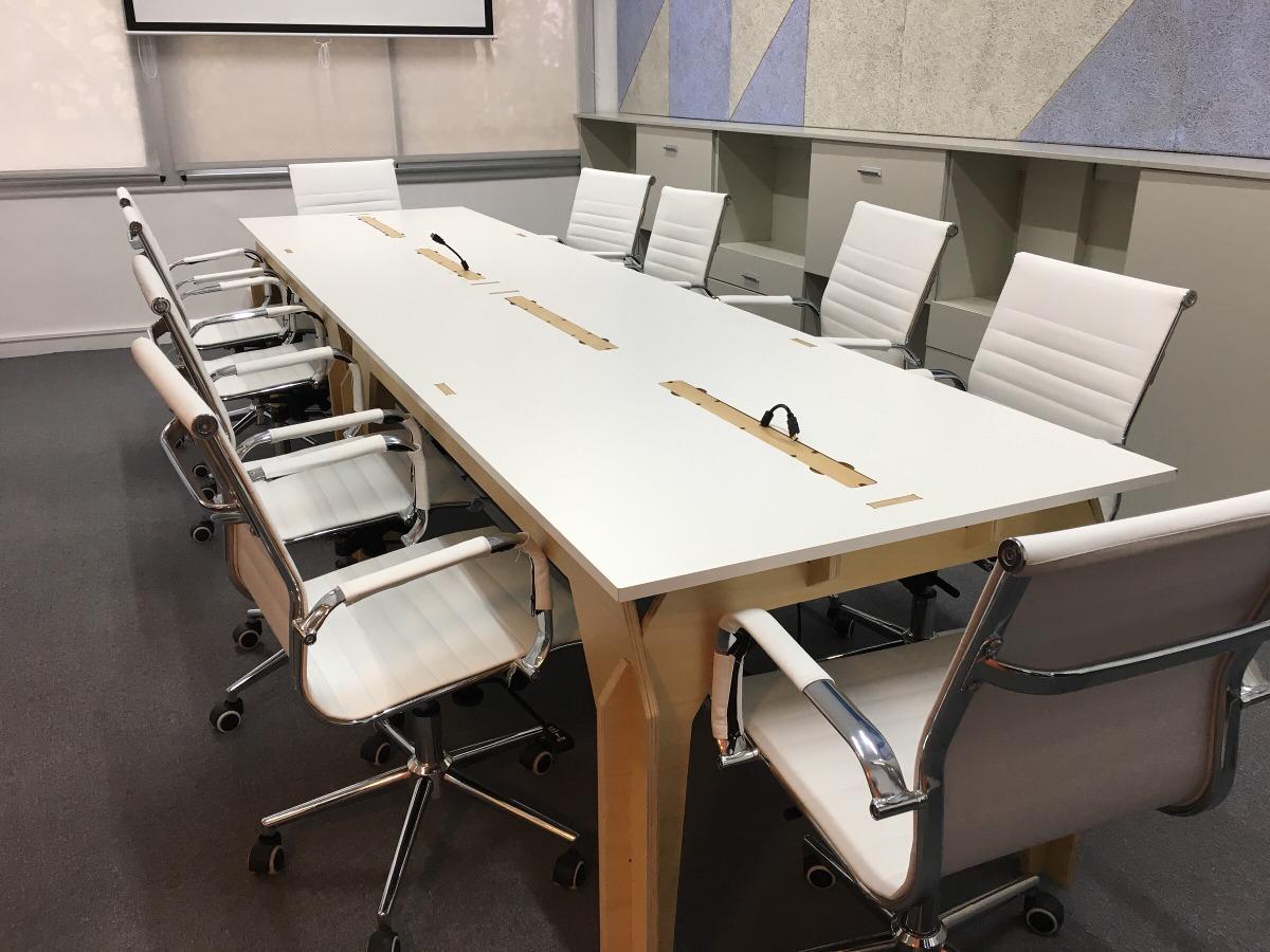 Mesa De Reunión Para #oficina #coworking - $ 14.550,00 en Mercado Libre