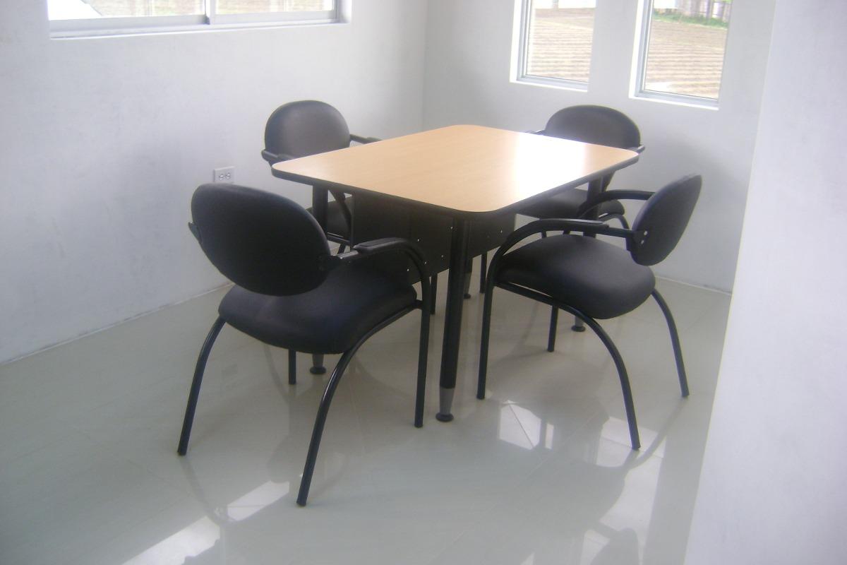Mesa De Reunion - Sillas Economicas - Muebles De Oficina - U$S 210 ...
