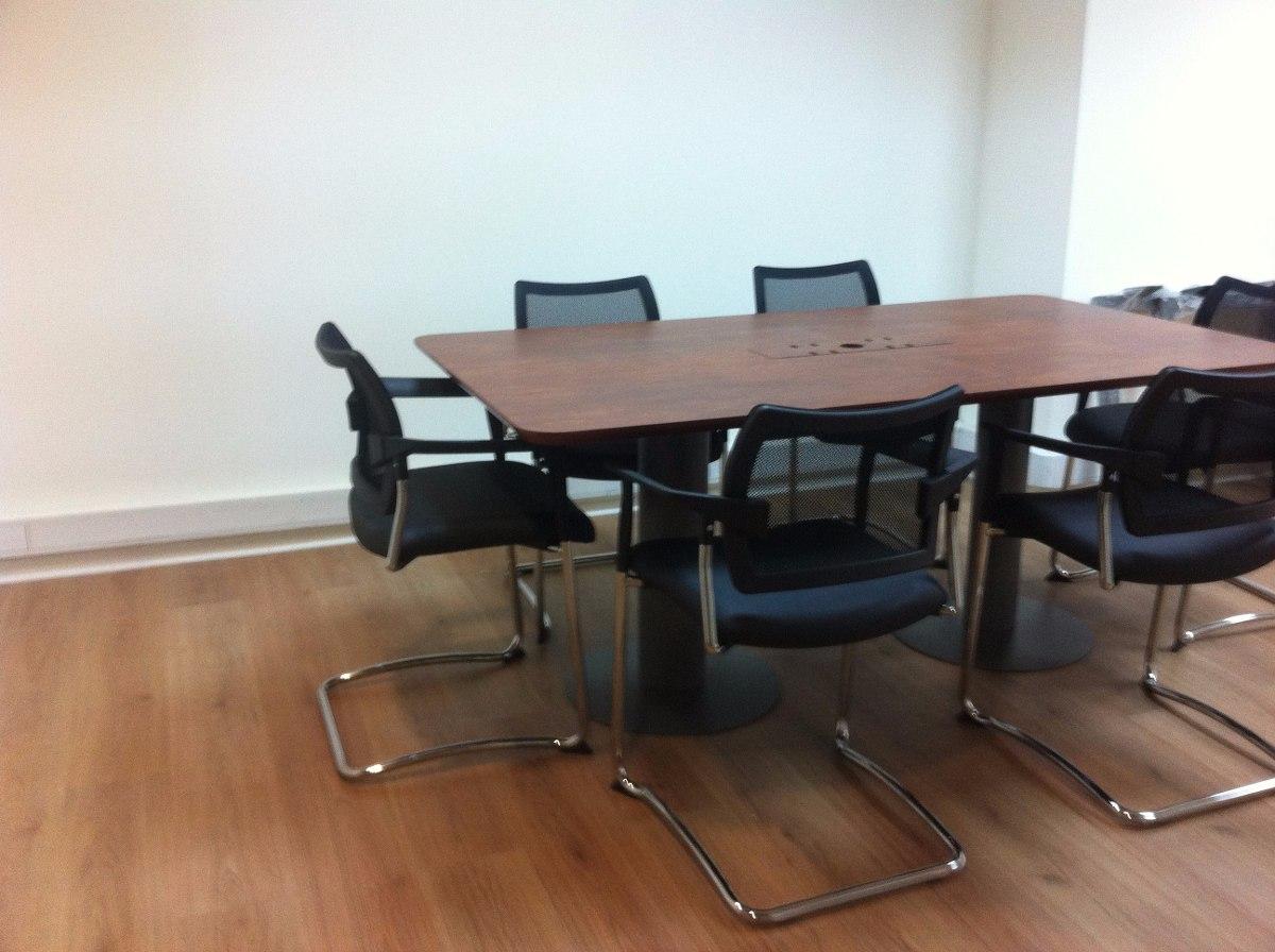 Mesa de reuniones 6 personas en mercado libre - Mesa de trabajo metalica ...
