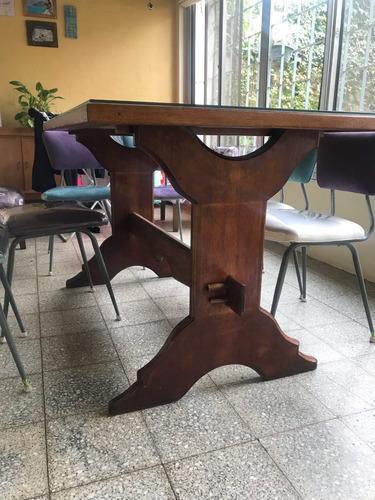 mesa de roble