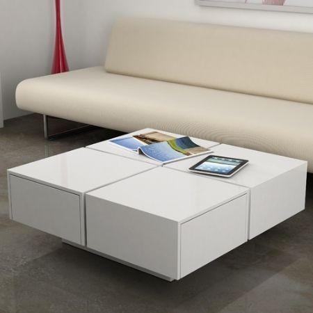 Mesa de sala moderna melamina s 160 00 en mercado libre for Mesas de sala modernas