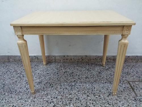 Mesa de sala ratona estilo luis xvi comedor living sala    3.850 ...