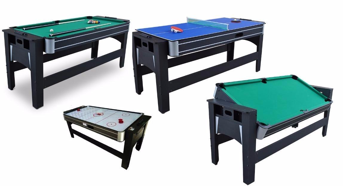 70595a23bd9 Mesa De Sinuca 3x1 Sinuca,air Hockey E Ping Pong(hockey 110v