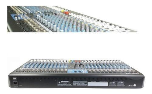 mesa de som 24 canais equalizador duplo usb soundvoice mp24