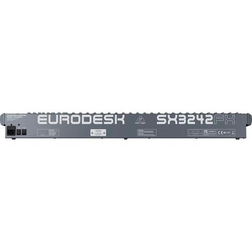 mesa de som 32 ch c/ph/4 aux - eurodesk sx3242fx behringer