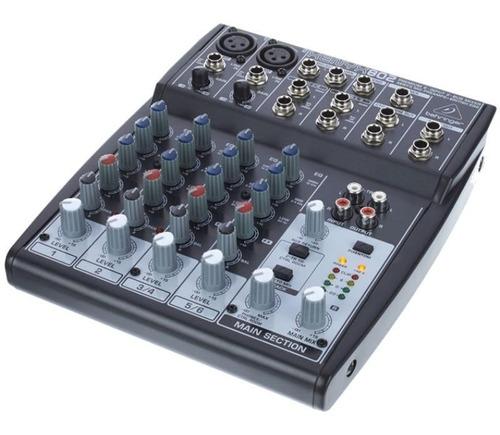 mesa de som 8 canais behringer xenyx 802 - 110v