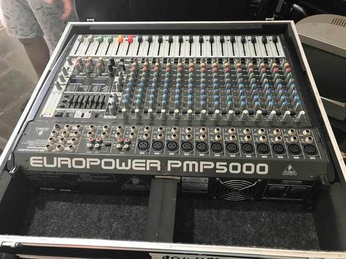 mesa de som behringer europower pmp 5000