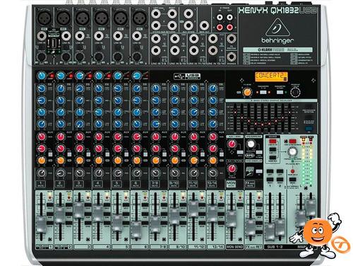 mesa de som behringer qx1832 usb garantia proshows