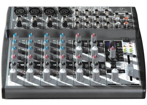 mesa de som behringer xenyx 1202fx 1202 efeitos