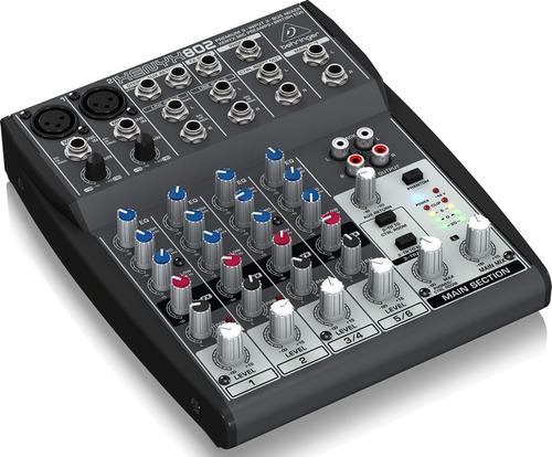 mesa de som behringer xenyx 802 - revenda autorizada