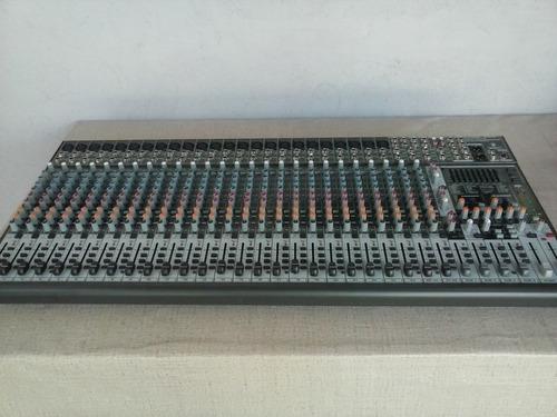 mesa de som beringer sx3242fx 32 canais seminova