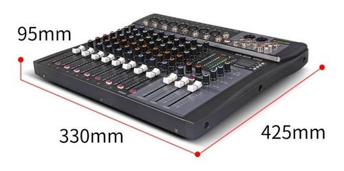mesa de som de 8 canais g mark mr-80s mono/stereo