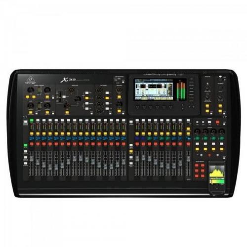mesa de som digital 32 canais x32 behringer