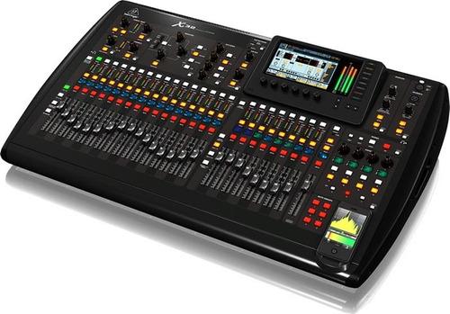 mesa de som digital behringer de 32 canais bi-volt x32 usb