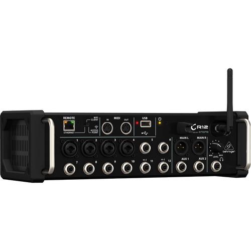 mesa de som digital behringer x air xr12 12 canais