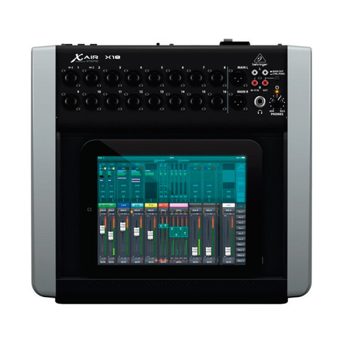 mesa de som digital behringer x18 x air garantia proshows