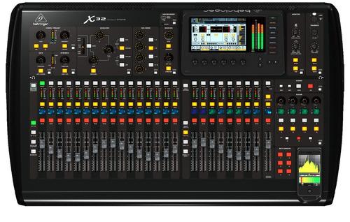 mesa de som digital behringer x32 | garantia proshows | nfe