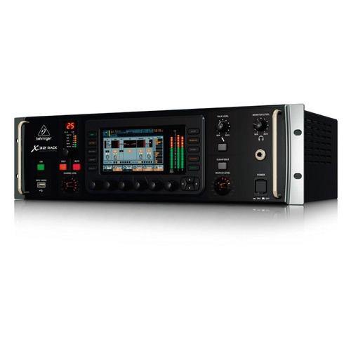 mesa de som digital behringer x32 rack 22 entradas e 16 prés