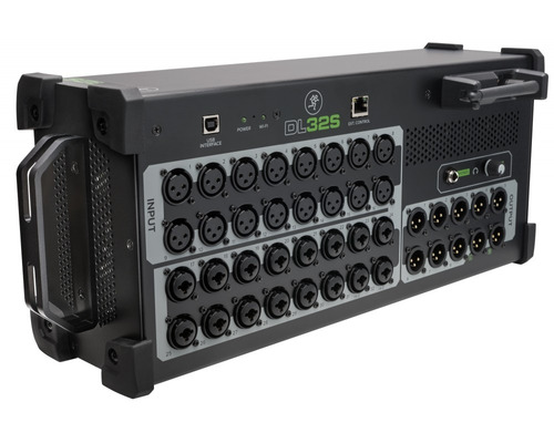 mesa de som digital mackie dl32s lançamento melhor que dl32r