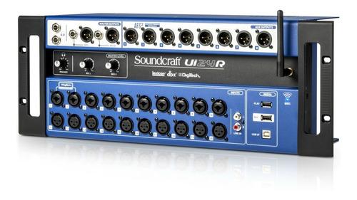 mesa de som digital soundcraft ui24r