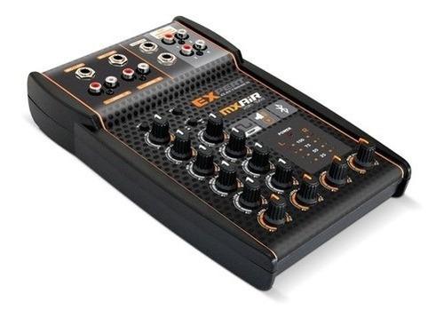 mesa de som expert mx air com processador bluetooth mxair