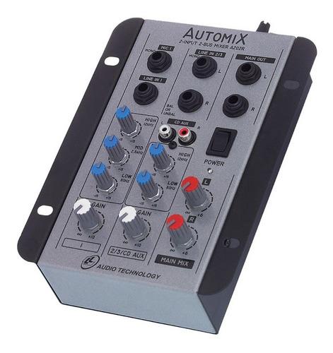 mesa de som lláudio automix a202r mn 2 canais
