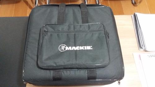 mesa de som mackie 1604 vlz 3 semi nova na caixa + bag case