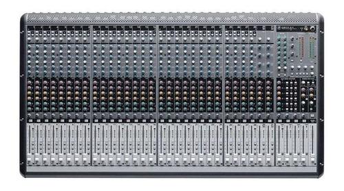 mesa de som mackie 32 canais (28 xlr+4 p10) 6 aux onyx 32.4