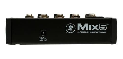 mesa de som mix 5 mackie 120v