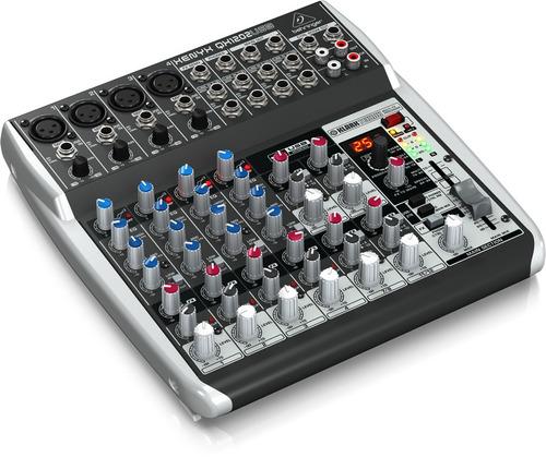 mesa de som qx1202 usb xenyx behringer mixer qx 1202 usb