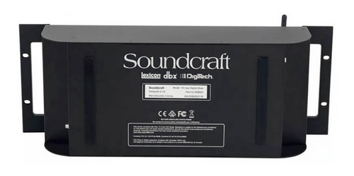 mesa de som soundcraft digital ui-16