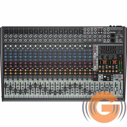 mesa de som sx2442fx behringer sx 2442fx mixer goias musical