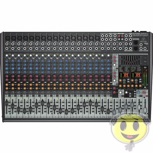 mesa de som sx2442fx behringer  sx 2442fx mixer kadu som