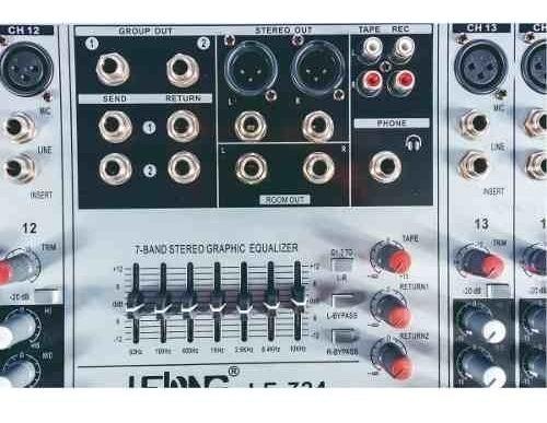 mesa de som usb mixer mp3 digital 24 canais aux 26 efeitos de alta qualidade 24 bits para igrejas, músicos, promoção